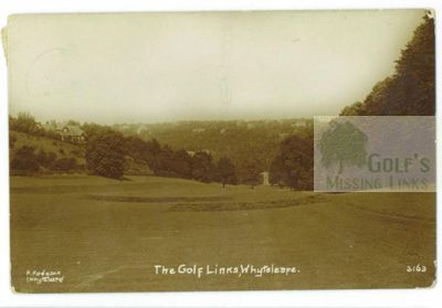 Warlingham Golf Club, Surrey. View of the Whyteleafe course.