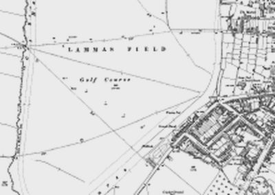Warwickshire Golf Club. Location of the golf course on the 1905 O.S map.