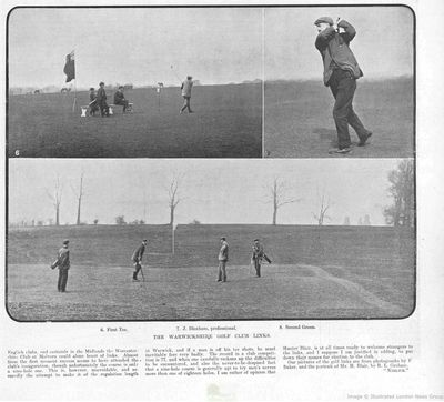 Warwickshire Golf Club. From The Illustrated Sporting Dramatic News June 1902.