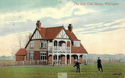 Wellington Golf Club, Shropshire. The Golf Club House, Wellington.