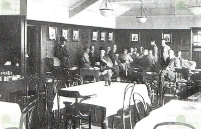 West Cheshire Golf Club, Breck Road, Wallasey. The Dining Room.