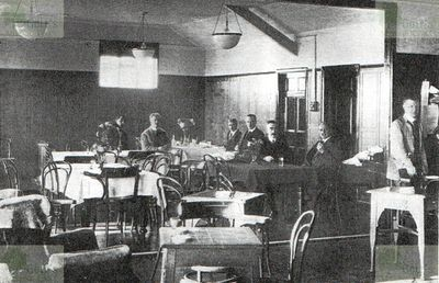 West Cheshire Golf Club, Breck Road, Wallasey. The Club Room.
