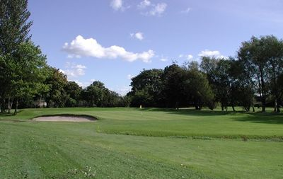 William Wroe Golf Club, Flixton, Manchester. View of the course.