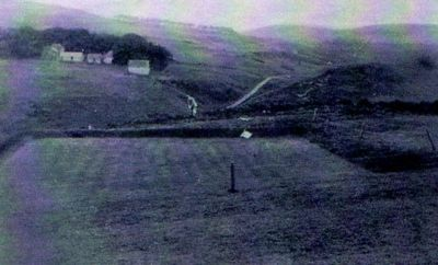Wooler Golf Club, Northumberland. The former eleventh green.