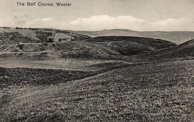 Wooler Golf Club, Northumberland. The 1920s course.