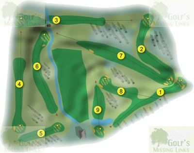 Ardfert Golf Club, County Kerry. Layout of the later nine-hole course.