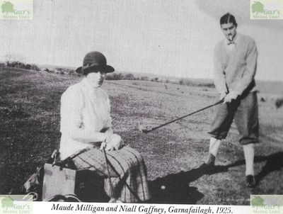 Athlone Golf Club, Westmeath. Pictures of members from the mid 1920s.