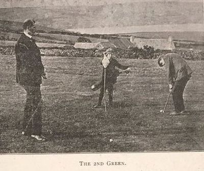 Atlantic Coast Links Golf Club, Kilbrittain. Article from World of Golf August 1906.