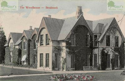 Bessbrook Golf Club, County Armagh. Postcard showing The Woodhouse, Bessbrook.