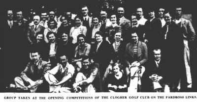 Clogher Golf Club, County Tyrone. Competitions on the Fardross course in May 1939.