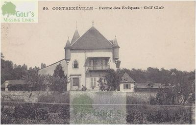 Contrexéville Golf Club, Vosges. The Clubhouse.