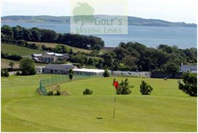 Ringdufferin Golf Club, County Down. Strangford Lough from the course.