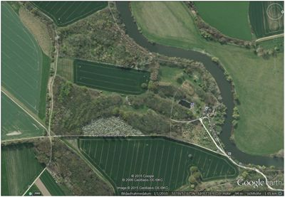 Bad Dürrenberg Golf Club. Google Map of the area.