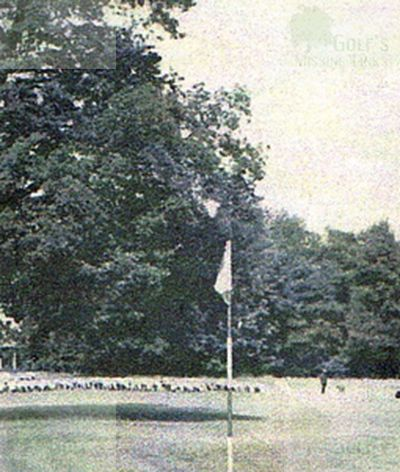 Bad Dürrenberg Golf Club. The first green in 1941.