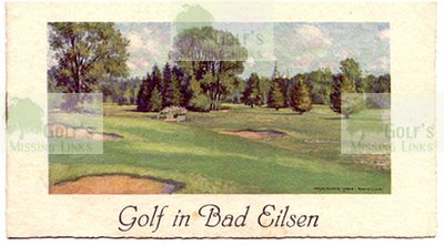 The Bad Eilsen Golf Club course.