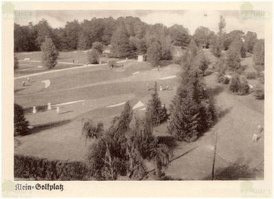 Bad Lausick Golf and Tennis Club. View of the Bad Lausick golf course.
