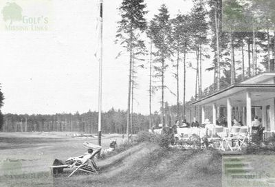 Dresden Golf Club. The clubhouse and course in 1932.