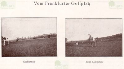 Frankfurter Golf Club, Hof Goldstein. View of the course in the mid 1920s