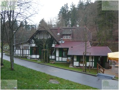 Langenschwalbach im Taunus Golf Club. Recent picture of the clubhouse.