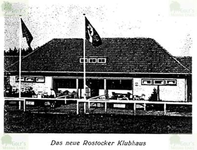 Rostock Golf Club, Neue Rennbahn. The clubhouse in 1939.