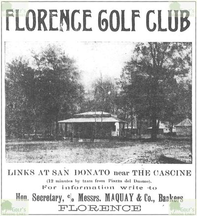 Florence Golf Club. Article from Florence Herald May 1914.
