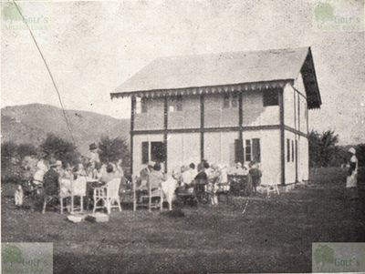 Franciacorte Golf Club at Borgonato-Adro. The Clubhouse in 1931.