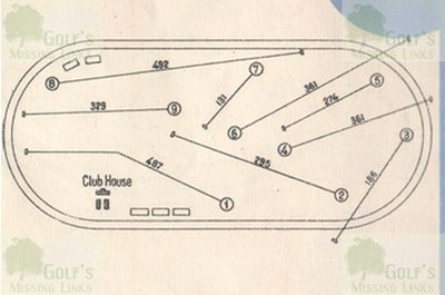 Torino Golf Club, Italy. Course layout at Mirafiori.