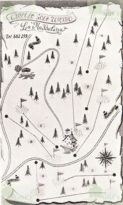 Torino Golf Club, Italy. The La Maddalena course.
