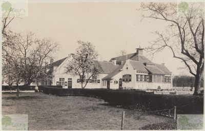 Clingendael - Haagsche Golf Club. Clubhouse and course from 1931.