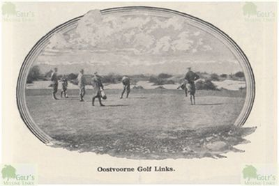 Oostvorne Golf Links. View of the course 1931.