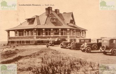 Lombartzyde Golf Club. The Clubhouse in 1934.