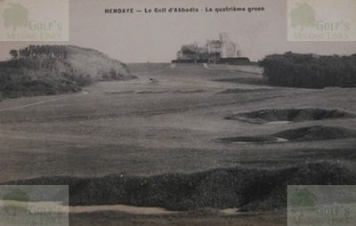 Abbadia Golf Club, Hendaye. The fourth hole.