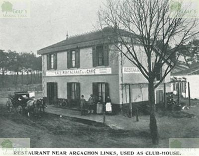 Arcachon Golf Club, Gironde. The Restaurant and Cafe use as a clubhouse.