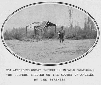 Argelès-Gazost Golf Club, Pyrénées-Orientales. Article from The Sketch April 1914.