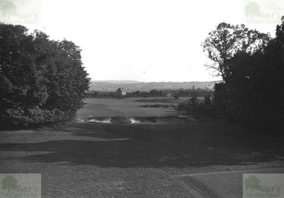 Aubergenville Country Club (Elizabethville G C). View from one of the tees.
