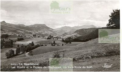 La Bourboule Golf Club, Puy de Dome. Golf Road.