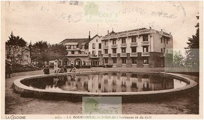La Bourboule Golf Club, Puy de Dome. The Hotel.