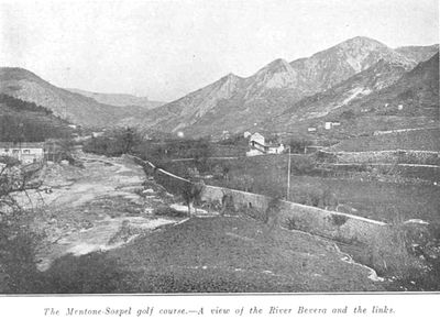 Menton/Sospel Golf Club, Alpes-Maritime. Report on the course from January 1911.