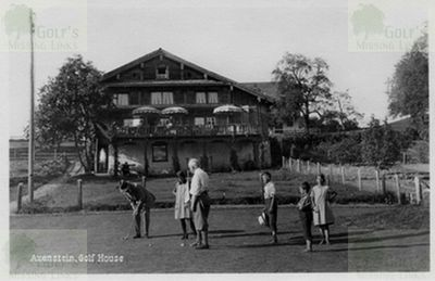 Axenstein (Brunnen) Golf Club Clubhouse.
