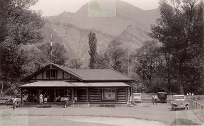 Bad Ragaz Golf Club, Switzerland. The later extended clubhouse in 1930.