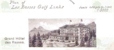 Les Rasses Golf Club. The Grand Hotel.