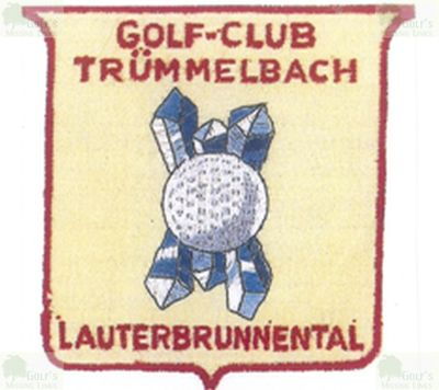 Trümmelbach Golf Club, Wengen. Golf Club badge.