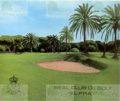 El Prat Golf Club, Barcelona. Scorecard cover.
