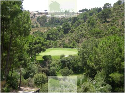 Monte Mayor Golf Club, Marbella. The third hole (2008).