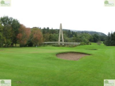 Aberfeldy Golf Club, Perth & Kinross. Pictures of the abandoned holes in October 2020.