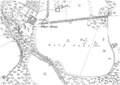 Altyre House Golf Course location.