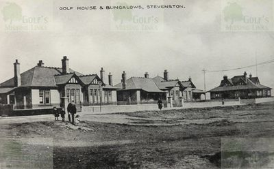 Ardeer Golf Club Clubhouse and Bungalows at Stevenston.