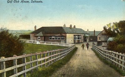 Ardrossan & Saltcoats Golf Club clubhouse in the early 1920s.