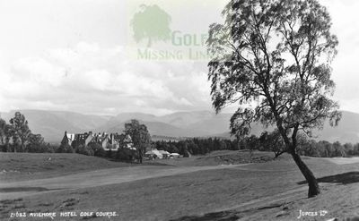 Aviemore Hotel Golf Club, Highland. The golf course.