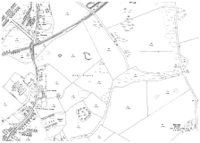 The 1914 O.S map showing Ballingry Golf Club course.